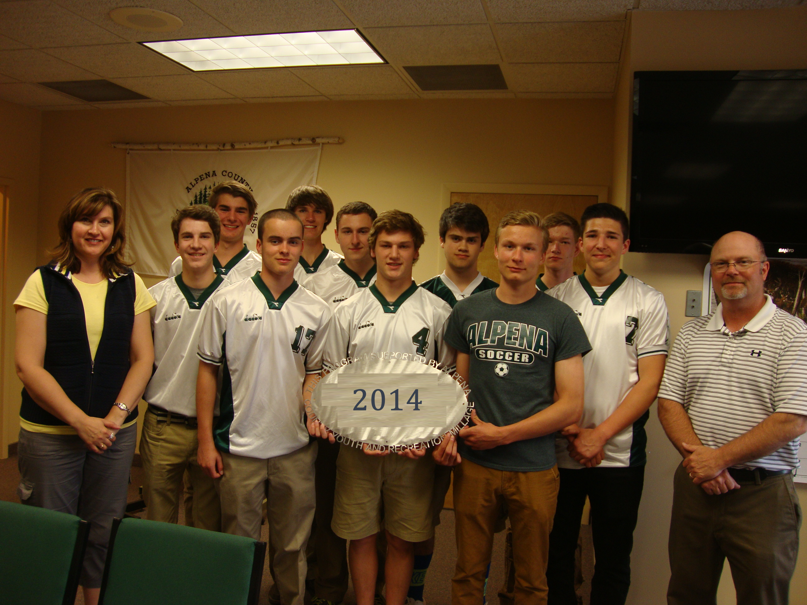 Alpena Public Schools-AHS Boys and Girls Soccer $6,800 Operating Support, transportation support, nets