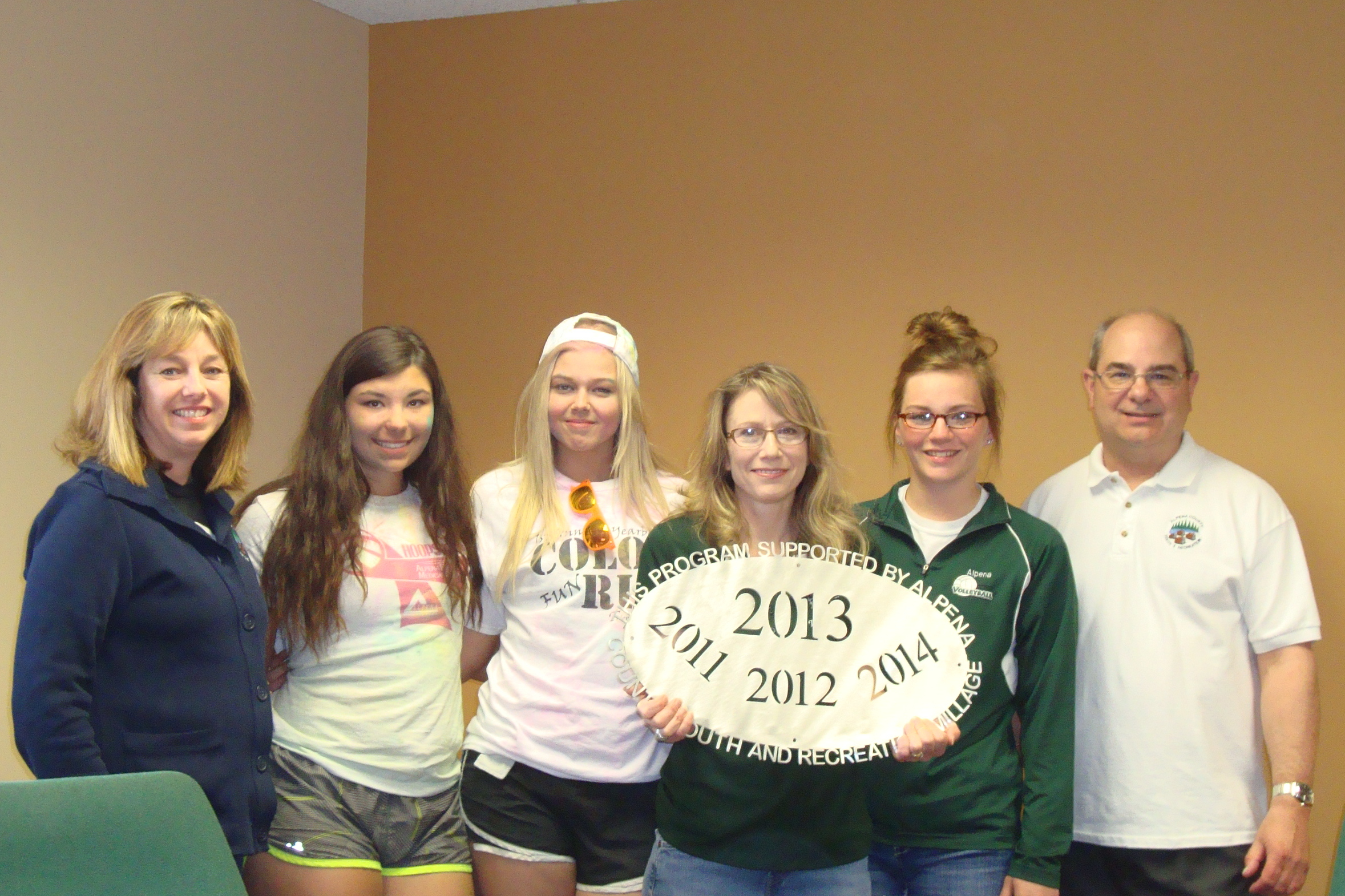 Alpena Public Schools - Volleyball Club $7,500 Operating Support to reduce the cost to players