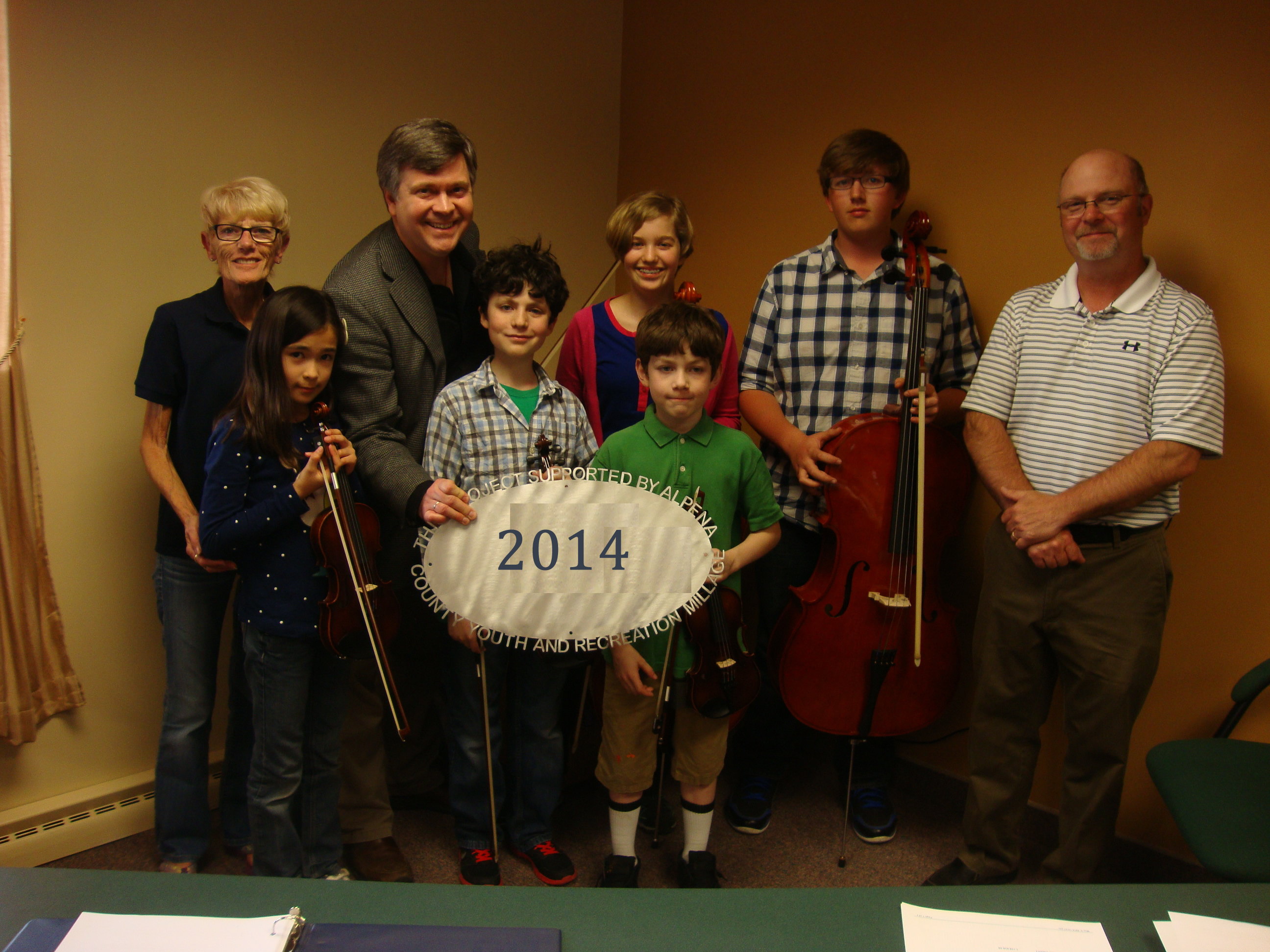 Alpena Symphony Orchestra $8,000 Operating Support & Equip