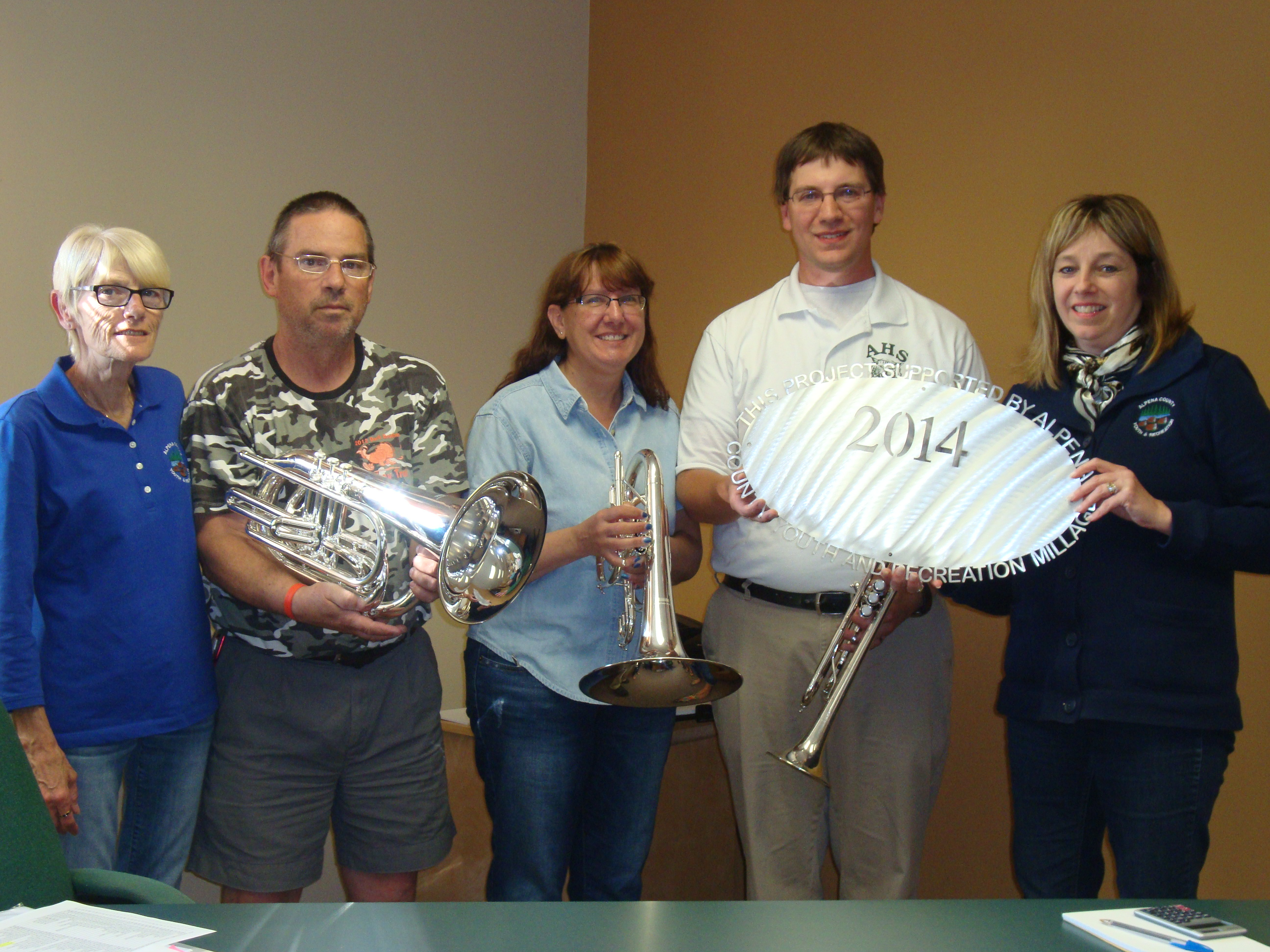 Alpena High School Band Boosters $20,000 Symphony Band uniforms, instruments