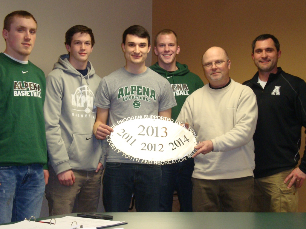 Alpena Public Schools - Boys Basketball $6,000 Operating support for Boys and Girls Teams