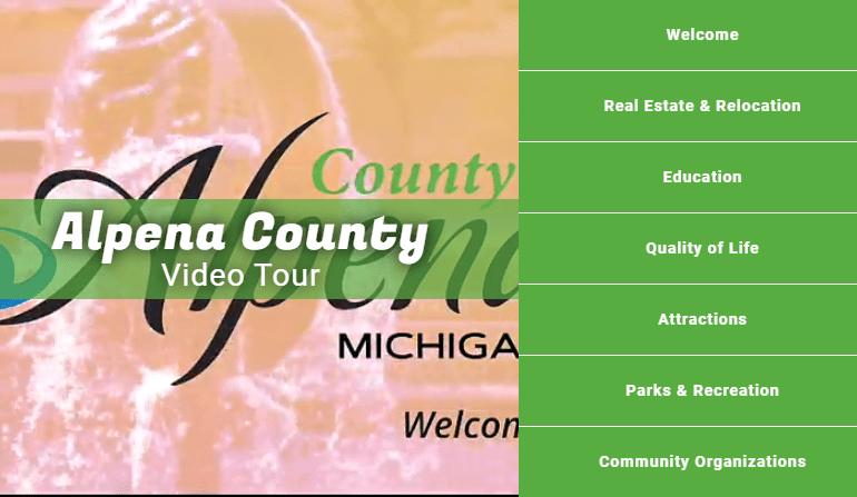 Video Tour of Alpena County